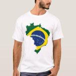 Mapa de Brasil Tshirt