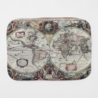 Mapa de Velho Mundo 1630 Fraldinhas De Ombro