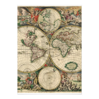 Mapa de Velho Mundo