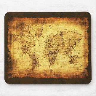 Mapa de Velho Mundo Mousepad