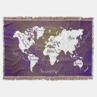 mapa do mundo 2 manta