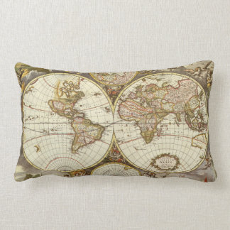 Almofadas com mapas na Zazzle