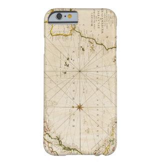 Mapa do mundo antigo capa iPhone 6 barely there