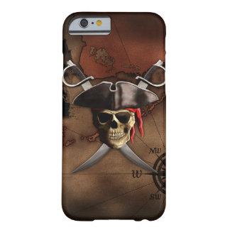 Mapa do pirata capa iPhone 6 barely there