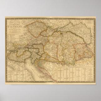 Mapas do império poster