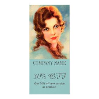 maquilhador do cabeleireiro da beleza dos TERMAS 10.16 X 22.86cm Panfleto