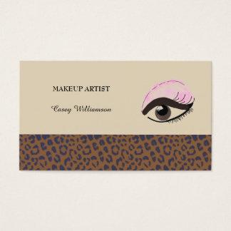 Maquilhador profissional cartão de visitas