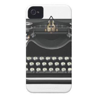 Máquina de escrever antiga capa de iPhone 4 Case-Mate