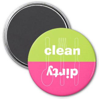 Máquina de lavar louça cor-de-rosa formal limpa su ima