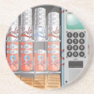 Máquina de venda automática porta-copos de arenito
