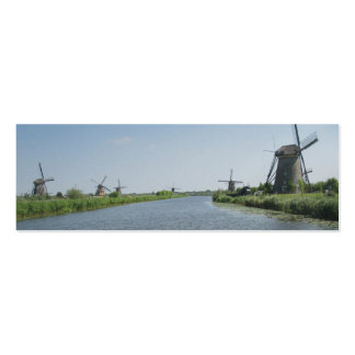 Marcador da foto de Holland da paisagem dos Cartão De Visita Skinny