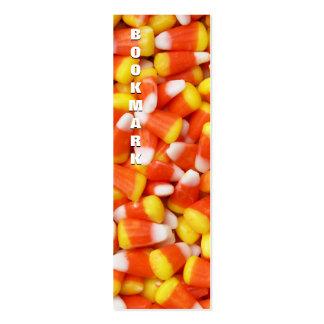 Marcador do milho de doces cartão de visita skinny