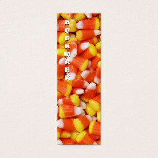 Marcador do milho de doces cartão de visitas mini