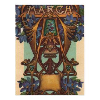 Março - Aries Cartão Postal