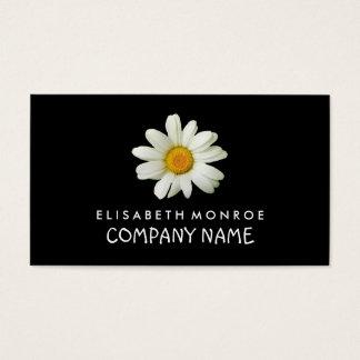 Margarida floral cartão de visitas