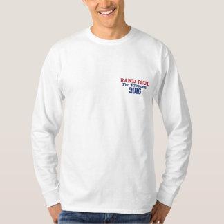 Margem Paul para a camisa 2016 do presidente