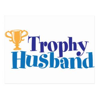 Marido do troféu cartao postal