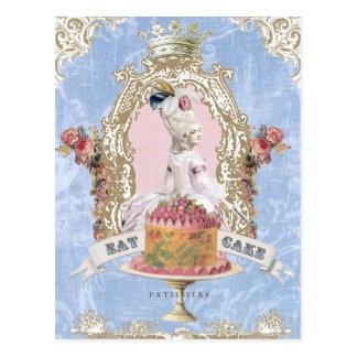 Marie Antoinette-Come o cartão do bolo…