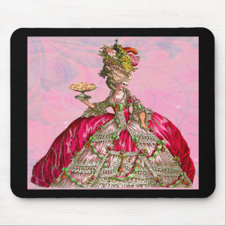 Marie Antoinette deixou-os comer o bolo Mousepad