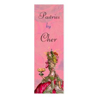 Marie Antoinette deixou-os comer o cartão de visit Cartão De Visita