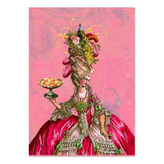 Marie Antoinette deixou-os comer o cartão de visit Cartao De Visita