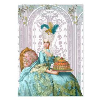 Marie Antoinette no Aqua Modelo Cartões De Visitas