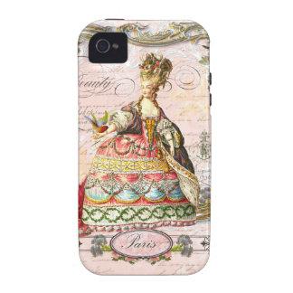 Marie Antoinette no exemplo cor-de-rosa de Paris