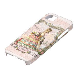 Marie Antoinette no rosa Capa De iPhone 5 Case-Mate