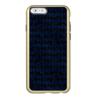 MÁRMORE DIAMOND1 PRETO & GRUNGE AZUL CAPA INCIPIO FEATHER® SHINE PARA iPhone 6