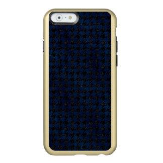 MÁRMORE HOUNDSTOOTH1 PRETO & GRUNGE AZUL CAPA INCIPIO FEATHER® SHINE PARA iPhone 6