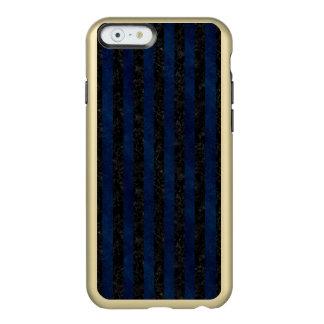 MÁRMORE STRIPES1 PRETO & GRUNGE AZUL CAPA INCIPIO FEATHER® SHINE PARA iPhone 6