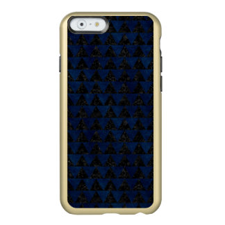 MÁRMORE TRIANGLE2 PRETO & GRUNGE AZUL CAPA INCIPIO FEATHER® SHINE PARA iPhone 6