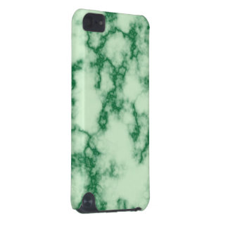Mármore verde do jade capa para iPod touch 5G