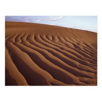Marrocos, Tinfou perto de Zagora), dunas de areia, Cartão Postal