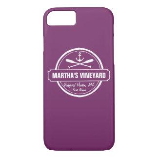 Martha's Vineyard, cidade das MÃES, nome, âncora Capa iPhone 8/7