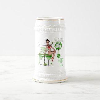 Martini sujo - caneca de cerveja
