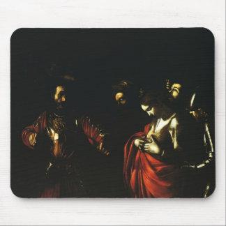 Martírio de Caravaggio- de St Ursula Mouse Pad