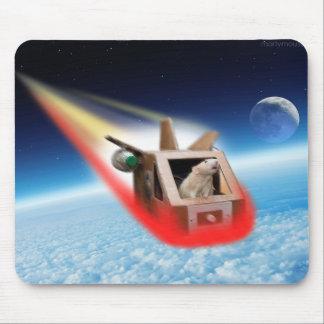Marty no tapete do rato do espaço mouse pad