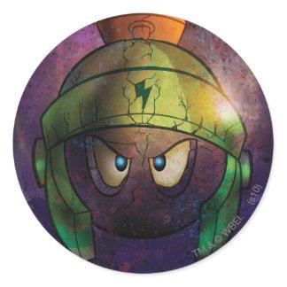 Marvin a batalha marciana endurecida autocolantes