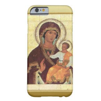 Mary e criança Jesus Capa Barely There Para iPhone 6