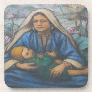 Mary e Jesus Porta-copos