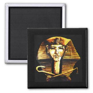 Máscara de morte egípcia do faraó de Akhenaten Ima
