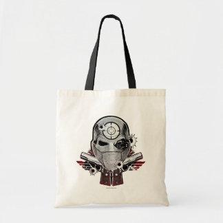 Máscara do pelotão | Deadshot do suicídio & arte Bolsa Tote