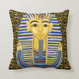 Máscara e Cartouche do ouro de Tutankhamun Almofada