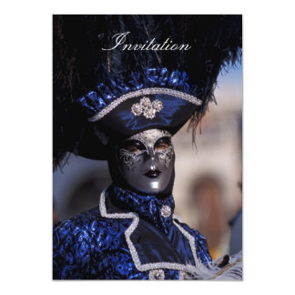 Máscara Venetian Convite Personalizado