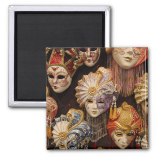 Máscaras de Carnivale em Veneza Italia Ima