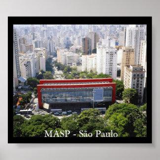 MASP - São Paulo Pôsteres