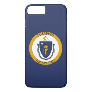 Massachusetts a bandeira personalizada estado da capa iPhone 8 plus/7 plus