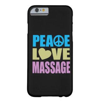 Massagem do amor da paz capa iPhone 6 barely there