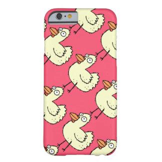 Matemática da galinha para senhoras loucas da capa barely there para iPhone 6